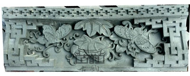 鑫华古韵砖雕-砖雕线条-砖雕瓜瓞绵绵花边-砖雕瓜瓞绵绵边框